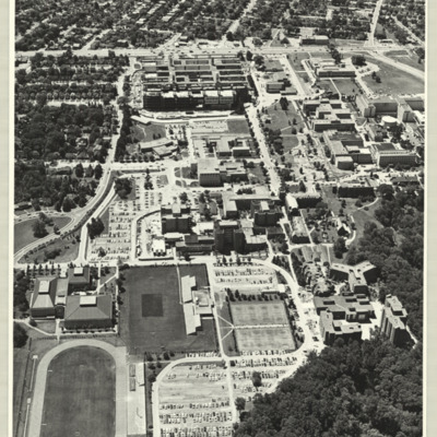 [McMaster University campus, 1970] : [photo 36974M-7]