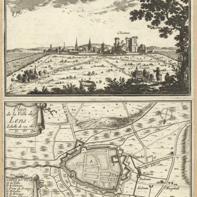 Lens ; Plan de Ville de Lens