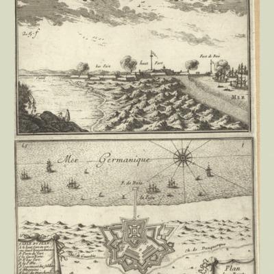 Mardick ; Plan du Fort Mardick