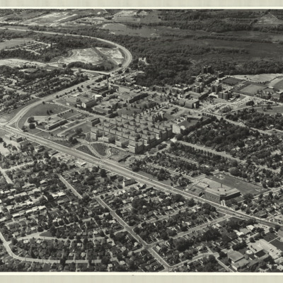 [McMaster University campus, 1972] : [photo 40616P-3]