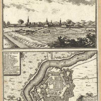 Graveline ; Plan de la Ville de Graveline