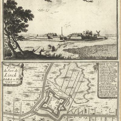 Fort de Linck ; Plan du Fort de Linck