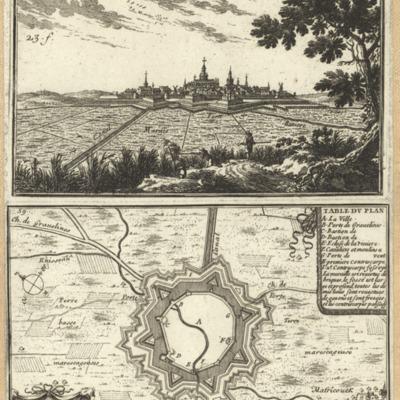 Bovrbovrg ; Plan de la Ville d Bourbour