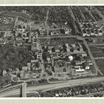 [McMaster University campus, 1975] : [photo 45277S-7]